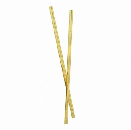 Gold Foil Party Straws - pack of 24